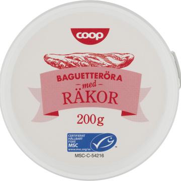 JPG-bild Coop Baguetteröra med Räkor MSC-märkt