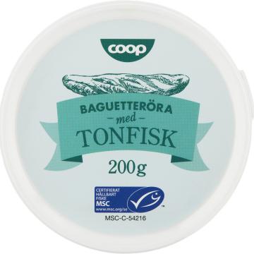 JPG-bild Coop Baguetteröra med Tonfisk MSC-märkt