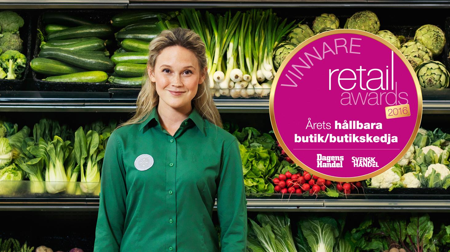 Coop är årets hållbara butikskedja