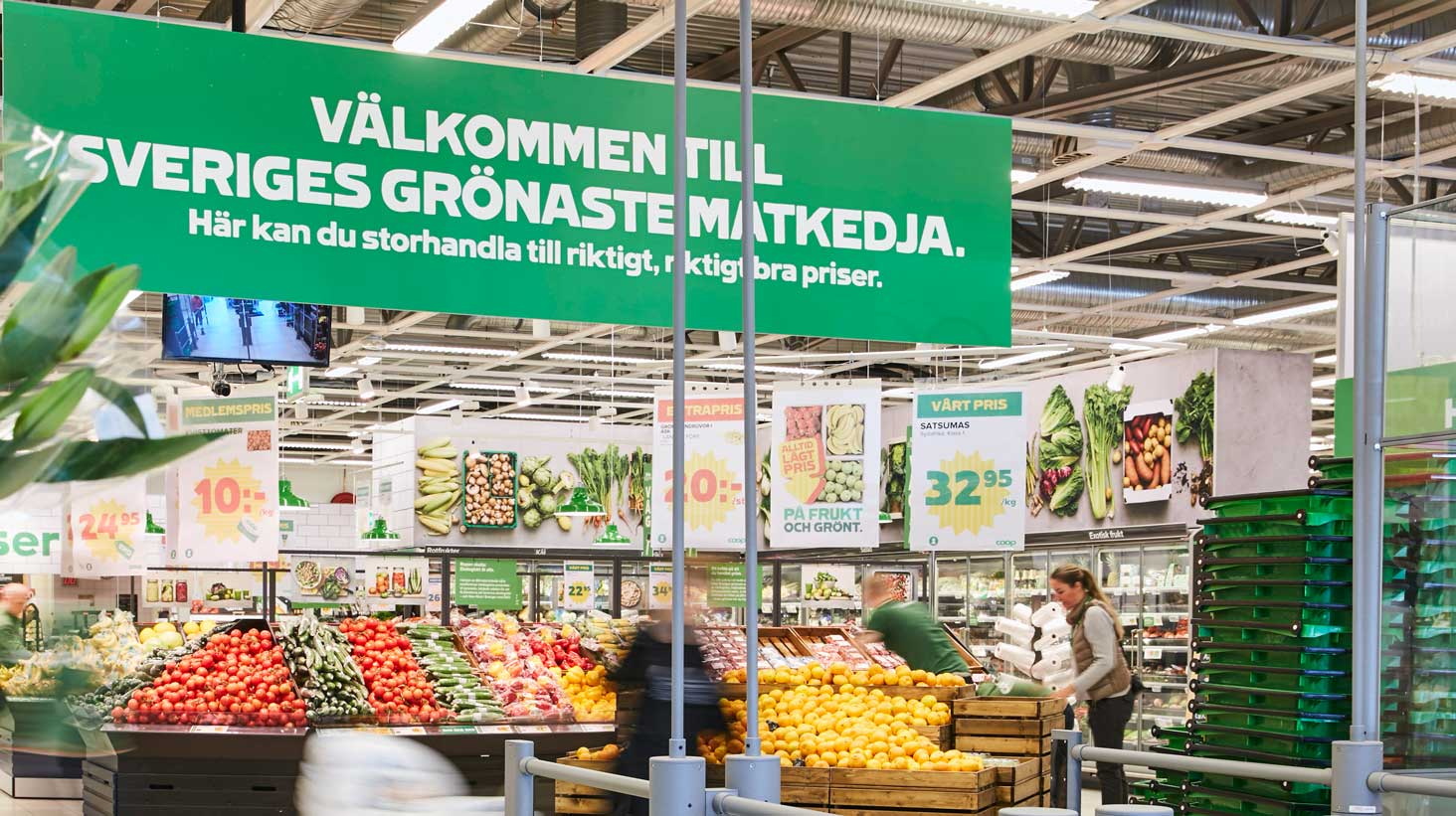 Nyöppning Coop Odenplan