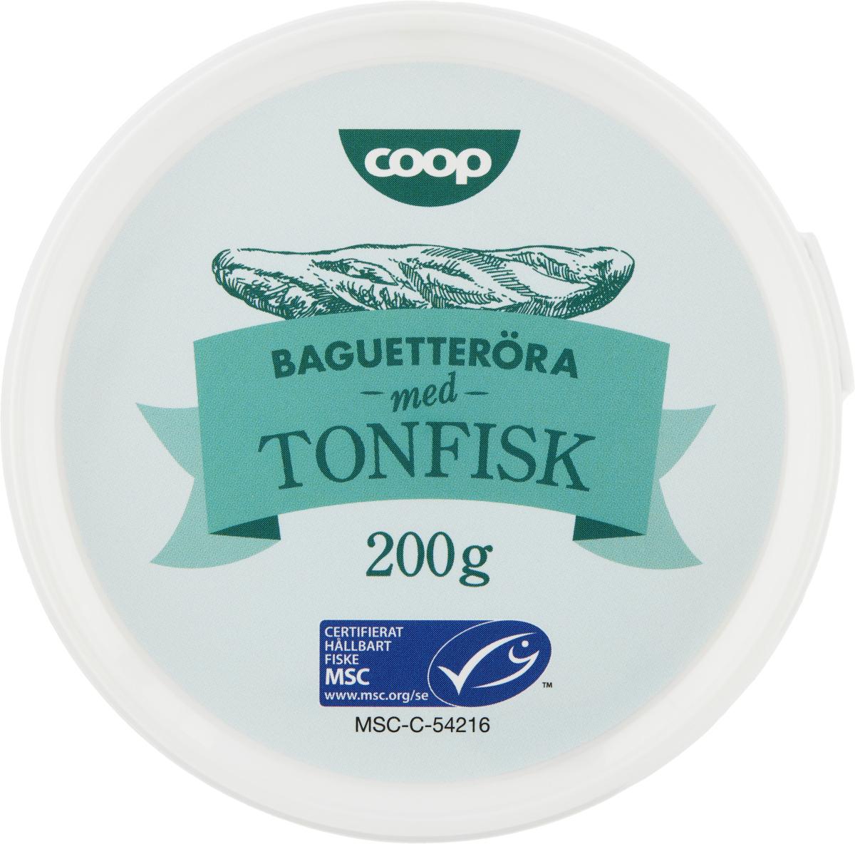 Coop Baguetteröra med Tonfisk, MSC-märkt
