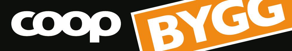 Coop Bygg - Logotyp avlång