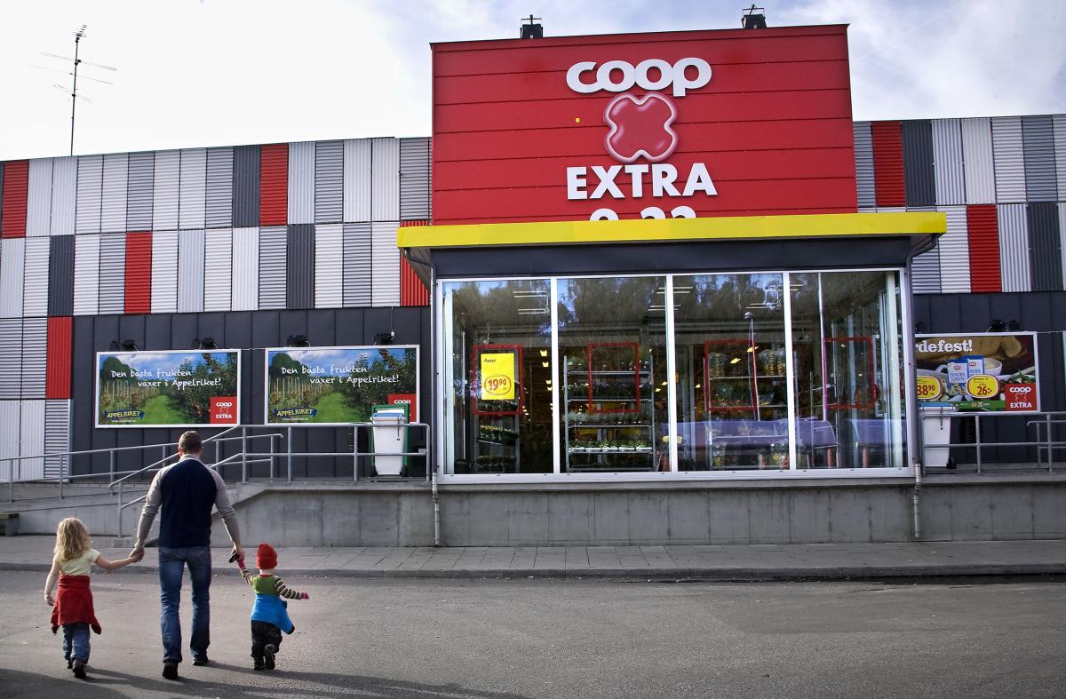 Coop Extra exteriör