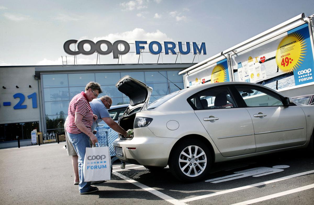 Coop Forum parkering