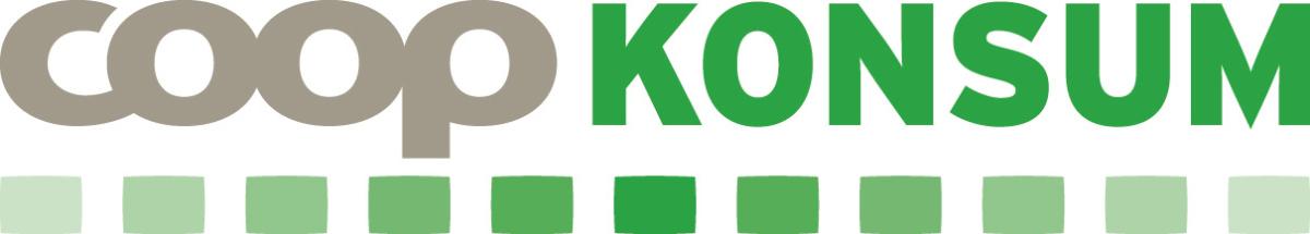 Coop Konsum - Logotyp avlång