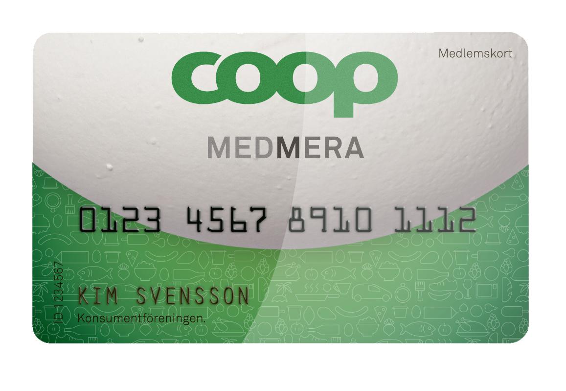 Coop MedMera - MEDLEMSKORT