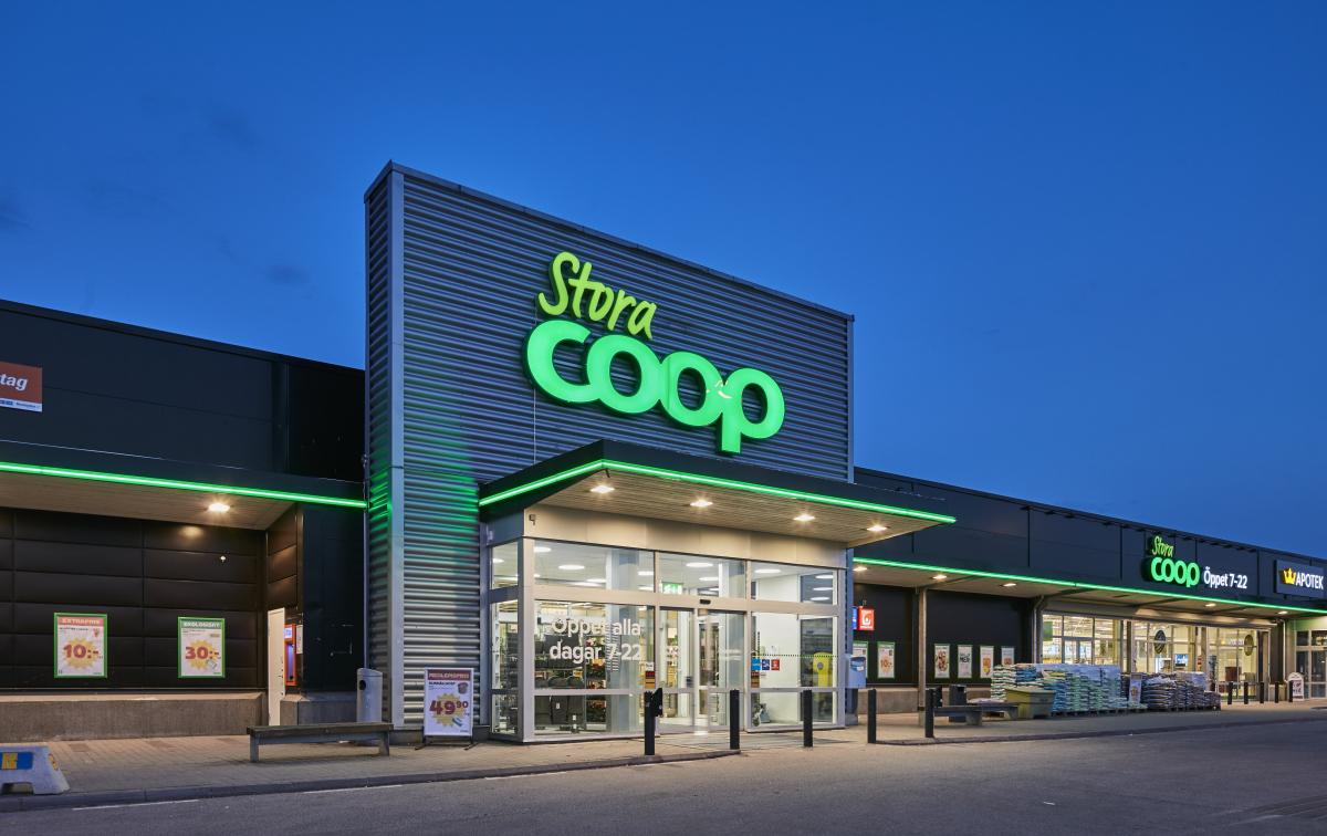 Coop butiksbild