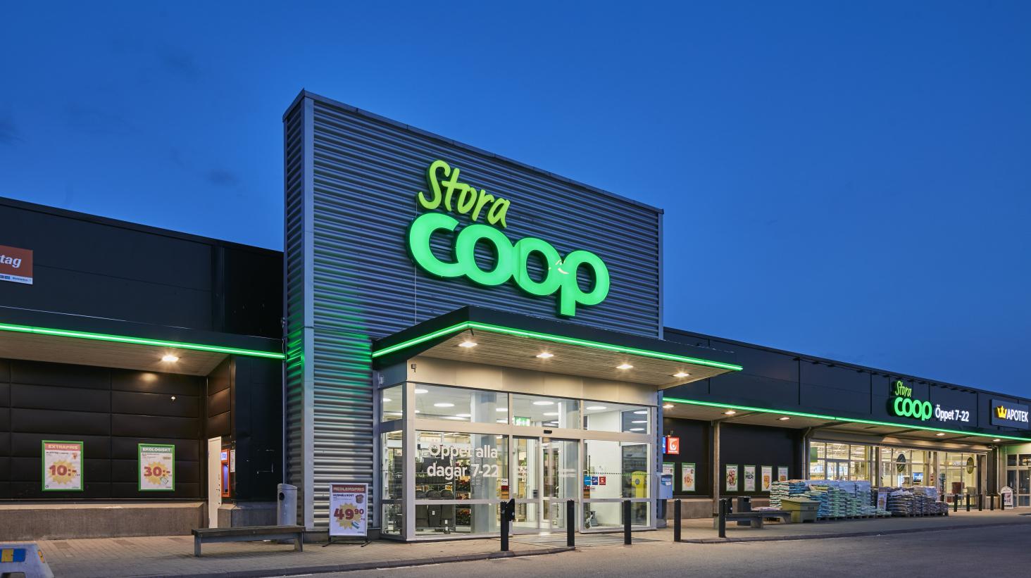 Coop etablerar stormarknad på Härlöv handelsområde i Kristianstad