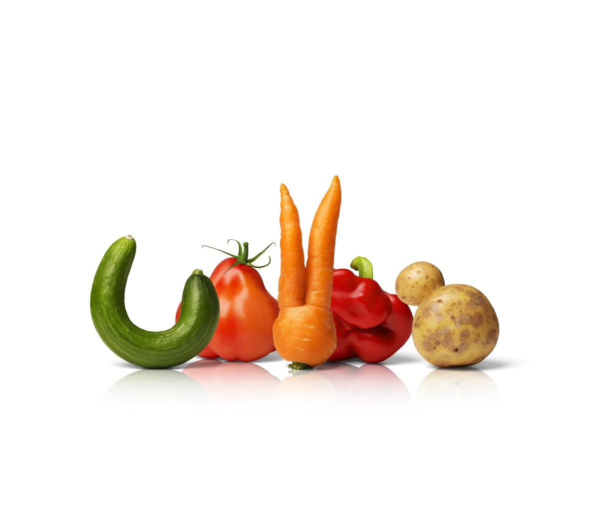 Knasiga grönsaker på Coop