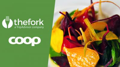 Ny partner i Coops medlemsprogram erbjuder mat för halva priset på 300 restauranger