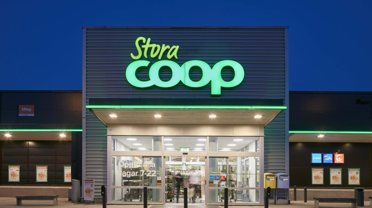 Coop Sverige levererar en kraftig vinstökning 2016