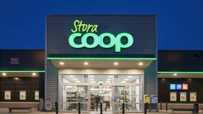 Tredje året i rad med vinst för Coop Sverige