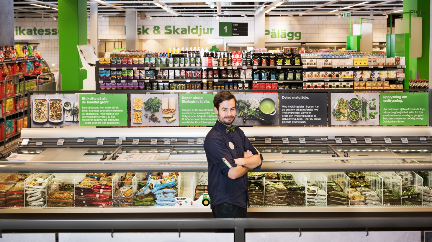 Nu öppnar Coops gröna butik i Norra Djurgårdsstaden