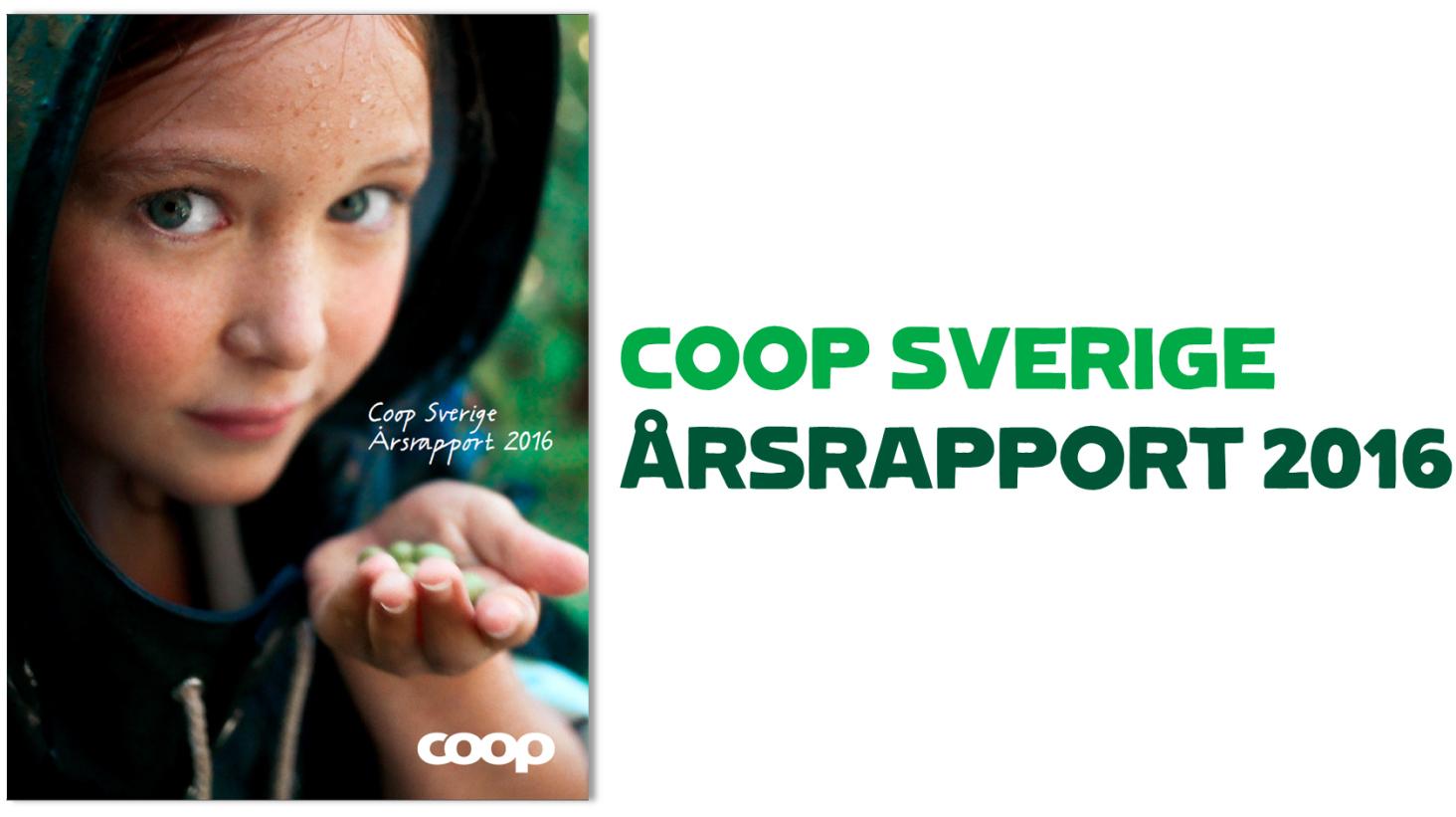 Coop publicerar års- och hållbarhetsrapport för 2016