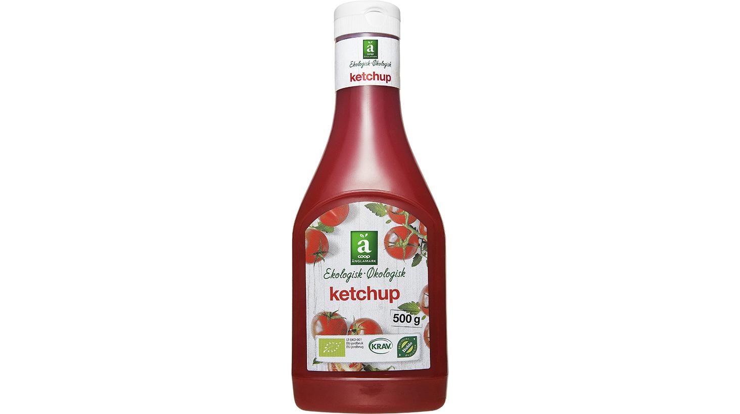 Änglamark ketchup bäst i test