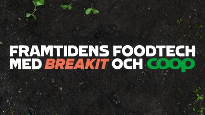 Coop satsar på foodtech i Almedalen