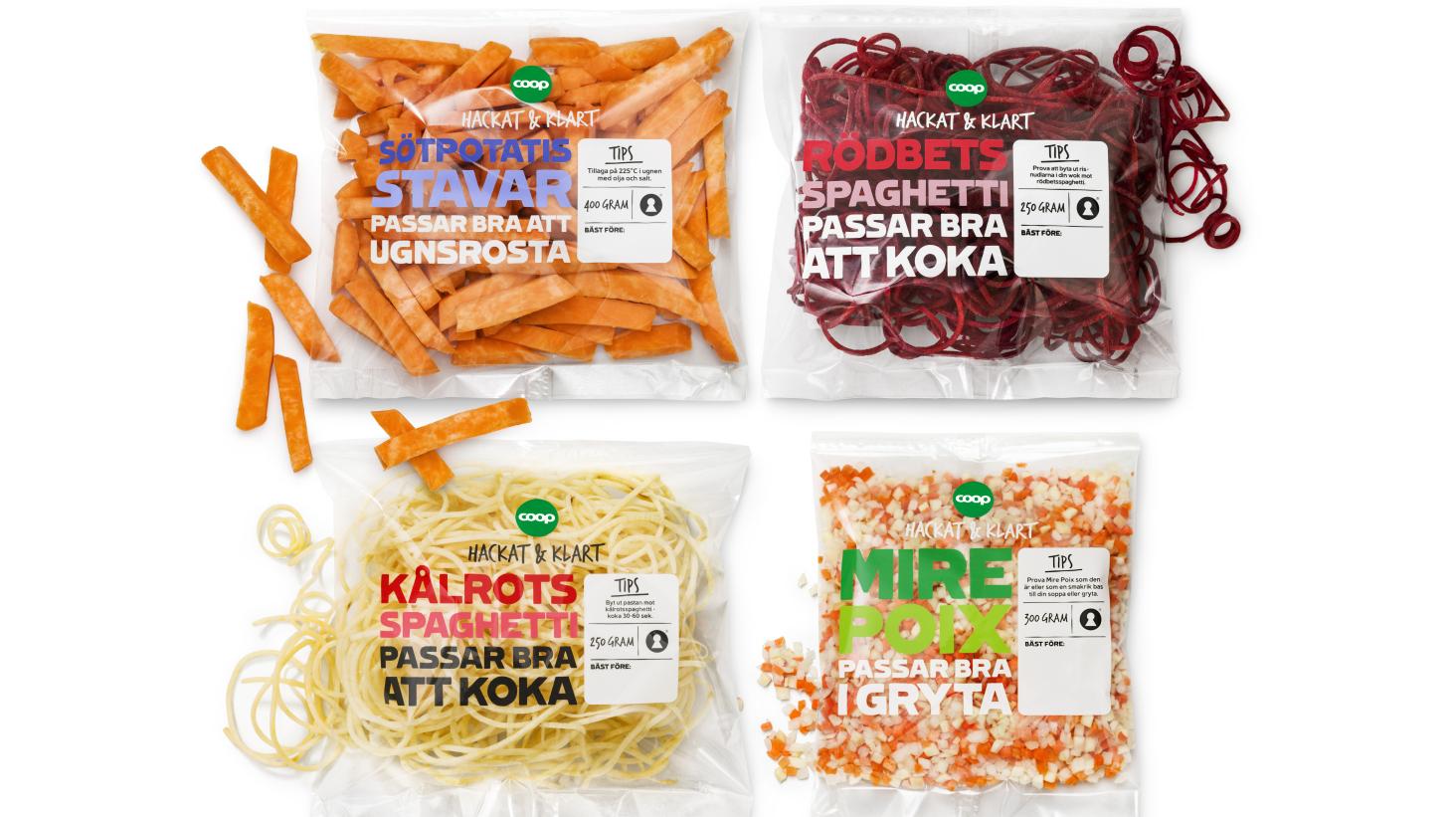 Coop gör jättesatsning på gröna måltidslösningar