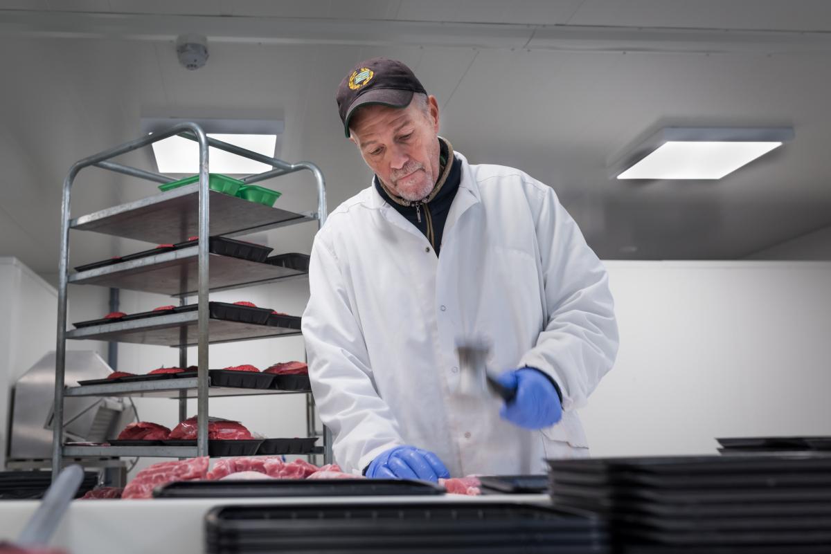 Saluhall beredning köttmästare hammare