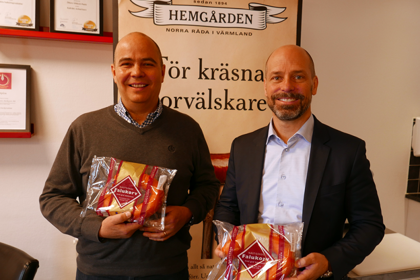 Avsiktsförklaring mellan Konsum Värmland och Hemgården säkerställer Nästgårds Charkprodukter i Värmland