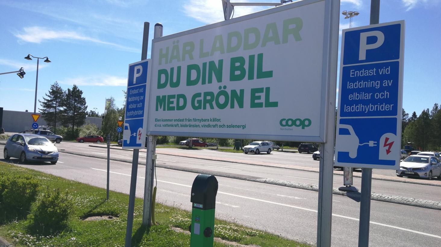 Coop Norrbotten bygger grön infrastruktur