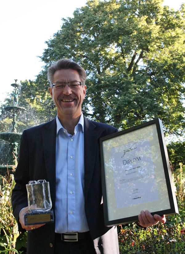 Årets matinspiration Konsum Värmland tog hem ett prestigefyllt pris