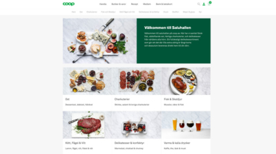 Coop öppnar saluhall – på nätet