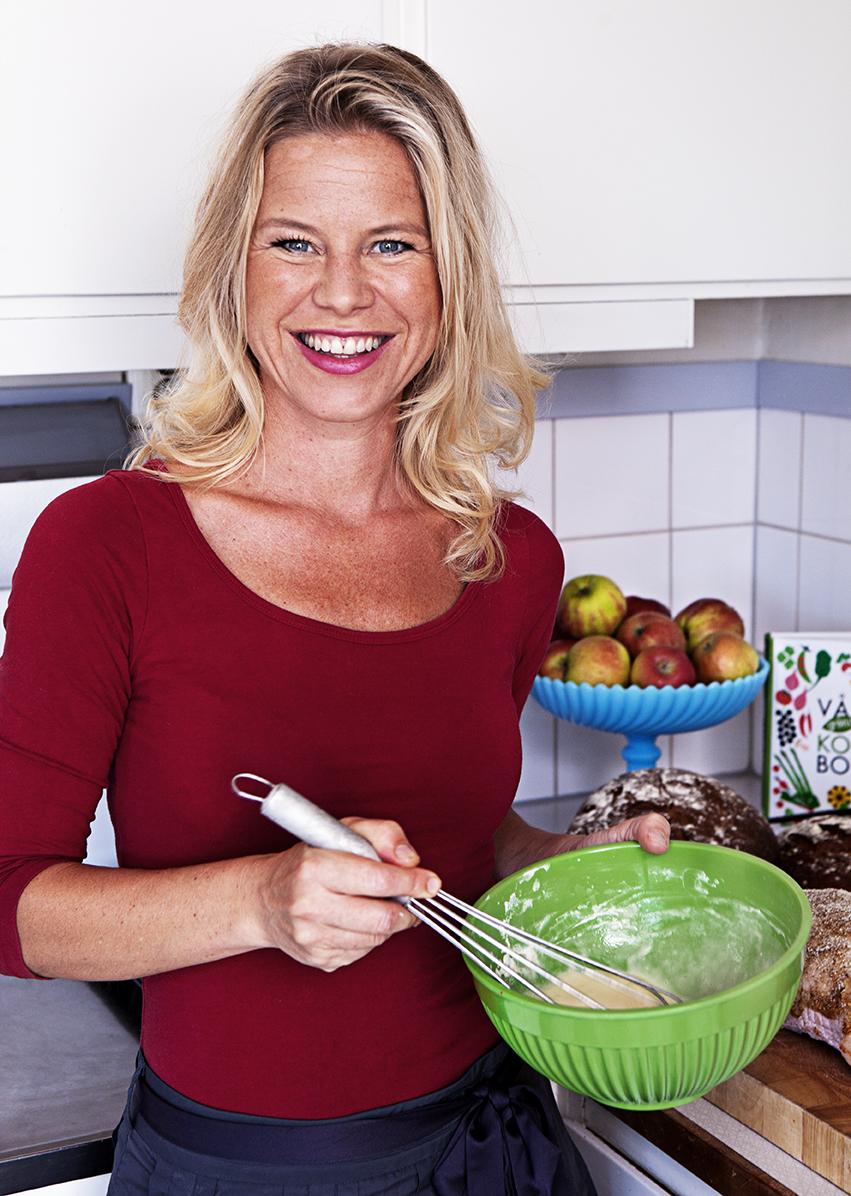 Sara Begner, chef Coops provkök
