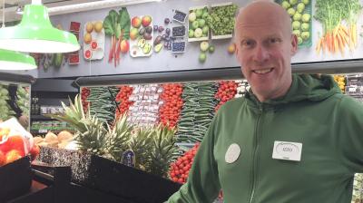 Invigning av Coop Nordmaling – en fullmatad butik i ny grön stil