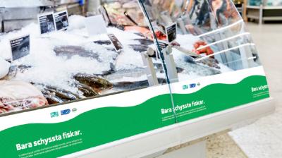 Coop hållbarhetsmärker sina fiskdiskar