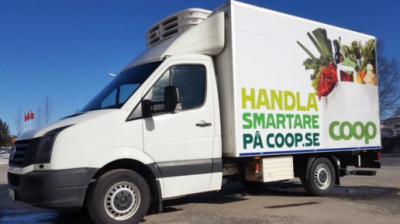 Premiär för Coop Online i Sundsvall
