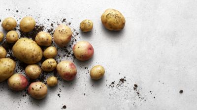 Vi äter mest potatis på lördagar