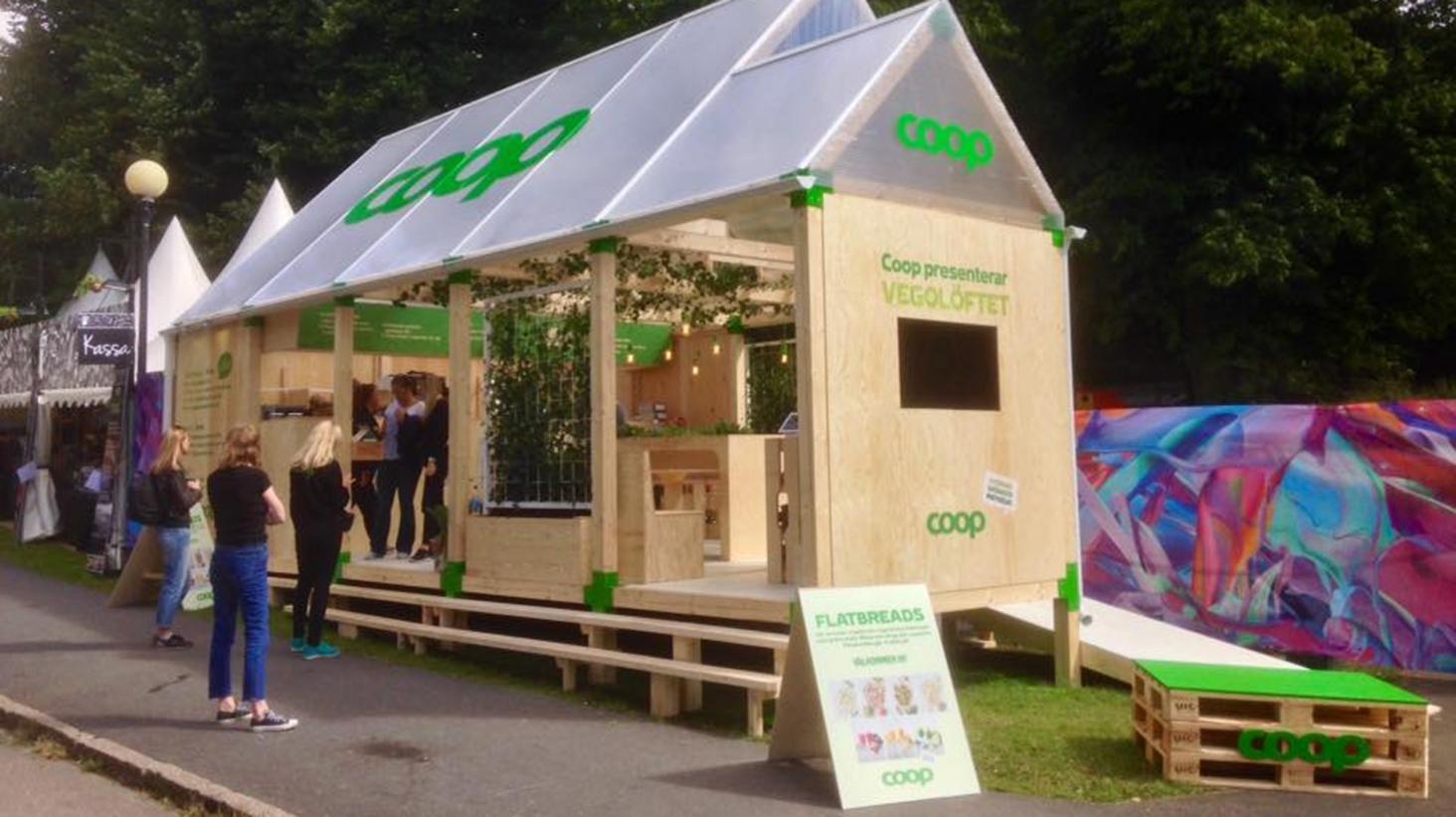Sveriges hållbaraste varumärke satsar grönt i Almedalen