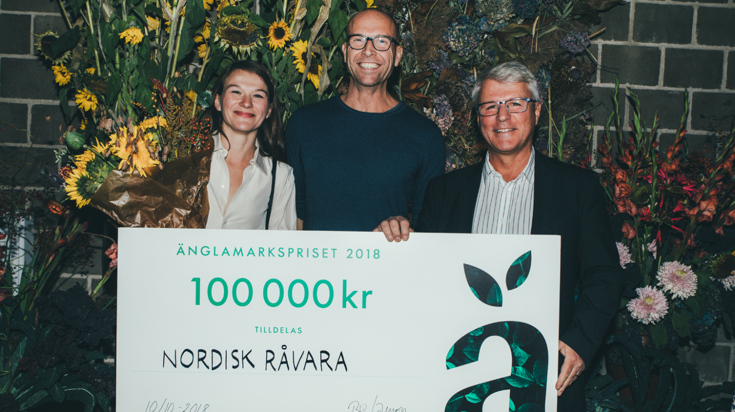 Nordisk Råvara prisas med Änglamarkspriset 2018
