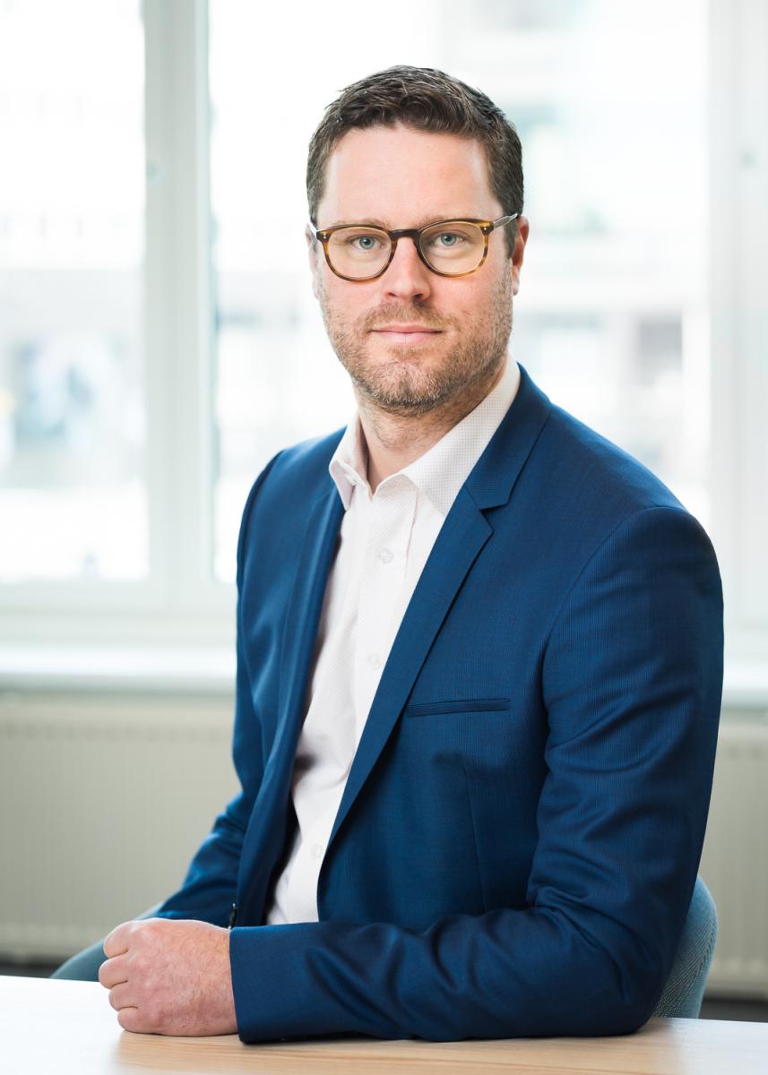 Jonatan Tullberg, direktör kommersiellt erbjudande