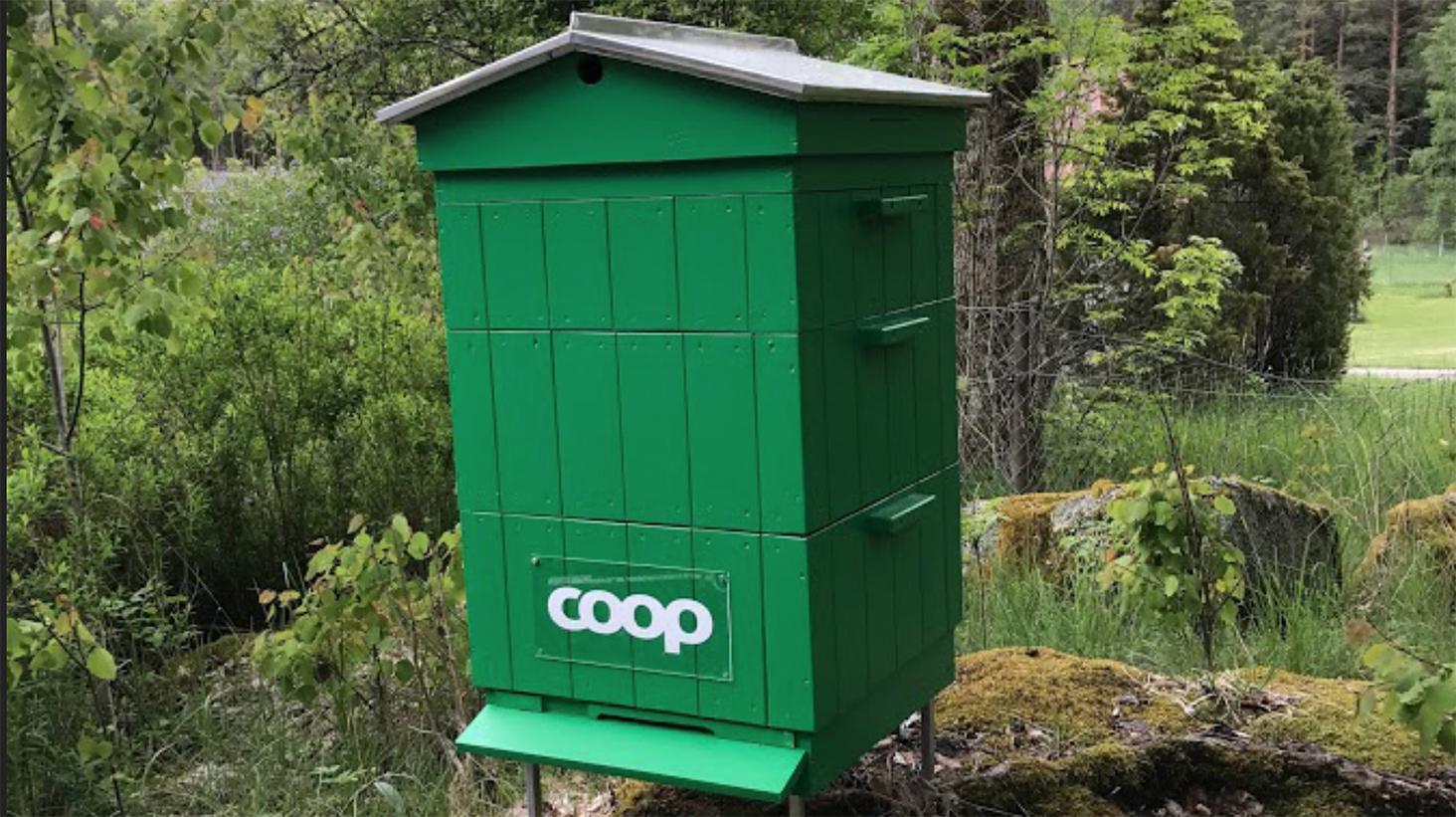 Över 1,86 miljoner bin tack vare Coops medlemmar