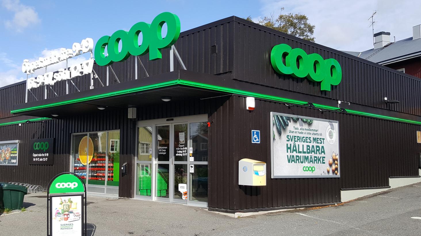 Coop köper Nettos svenska butiker