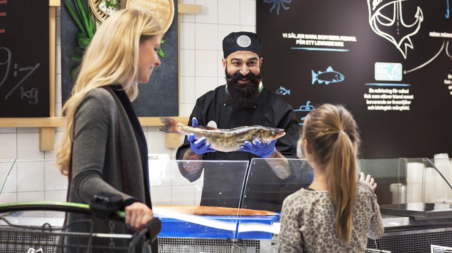 Coop stoppar frigolitlådor för fiskleveranser
