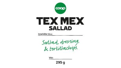 Coop återkallar Tex Mex-sallad med tacochips