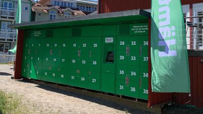 Nu kommer Coops e-handel till Sandhamn