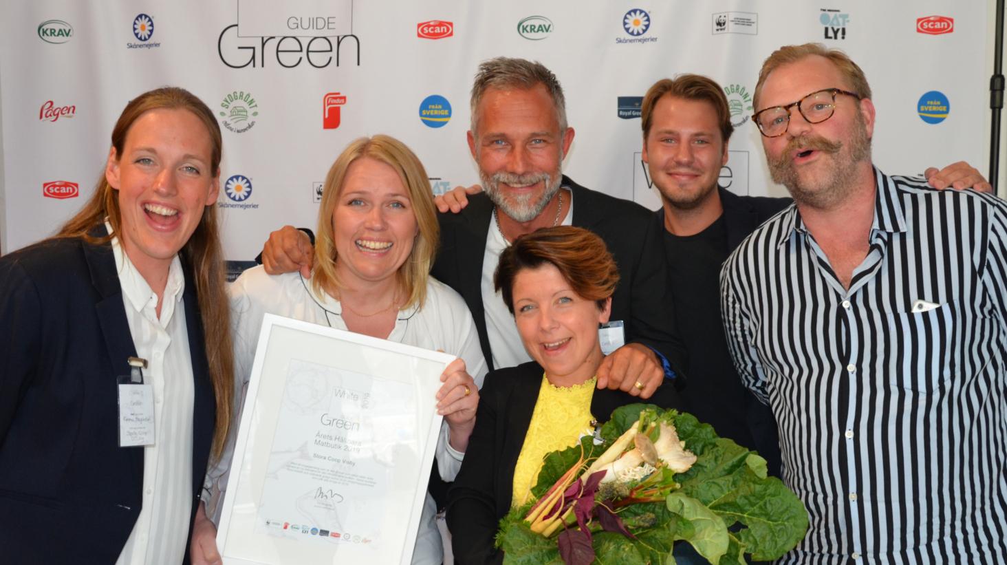 Stora Coop Visby prisas som Årets hållbara matbutik