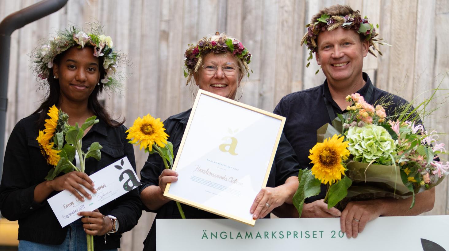 Havstenssunds Ostron vinner Änglamarkspriset 2019