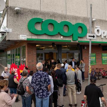 Butiksöppning Coop Sollentuna