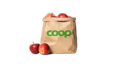 Coop ersätter de tunna plastpåsarna med papperspåsar