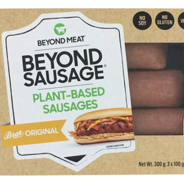 Packshot Beyond Sausage 3 pack