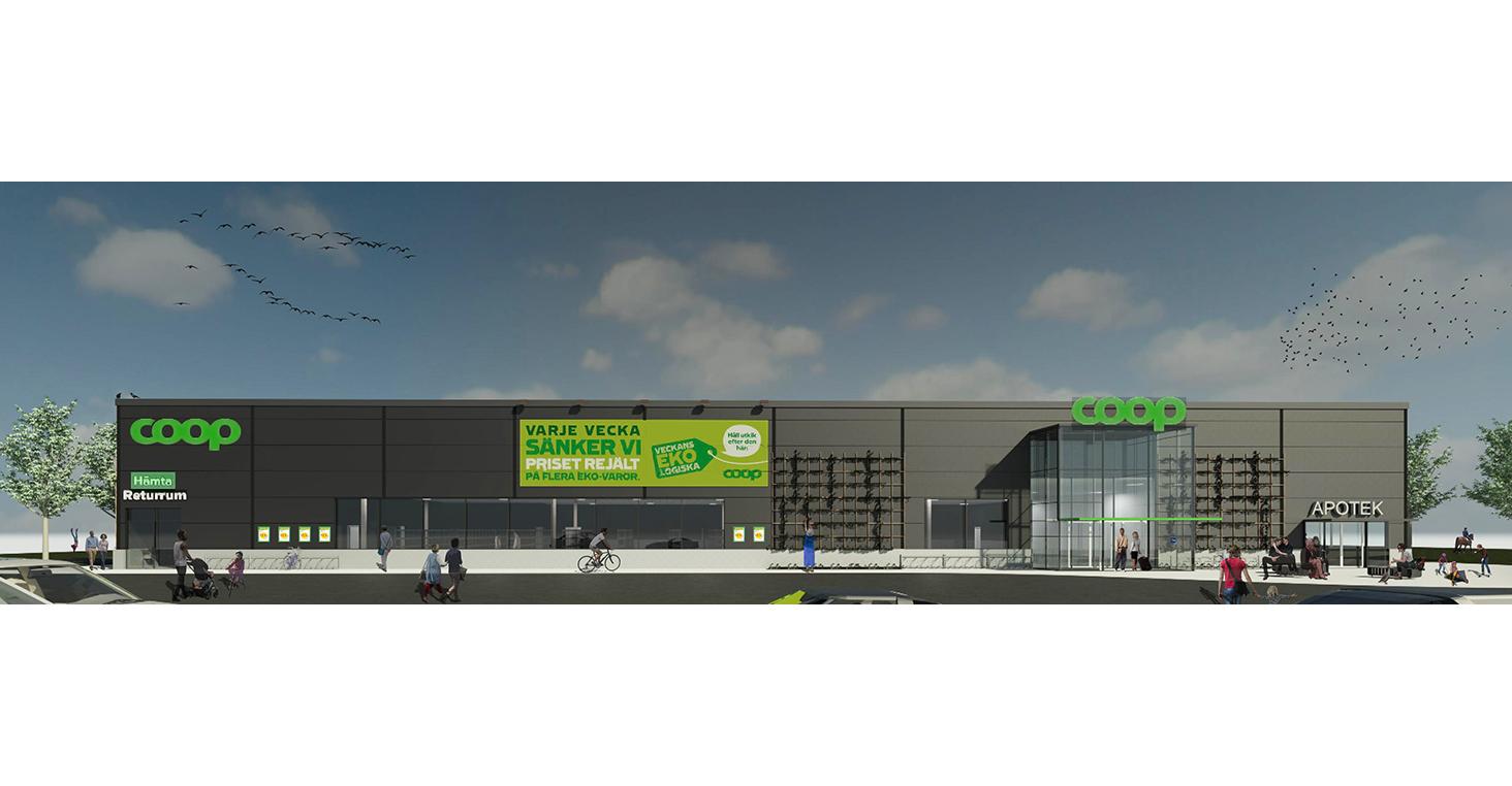 Coop öppnar ny butik i Hjärup