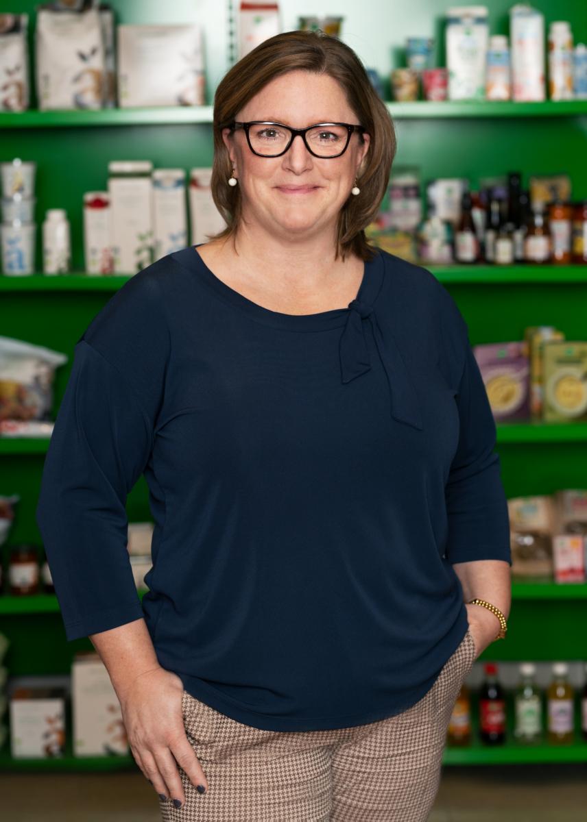 Sara Gillerlöv, affärschef torra varor