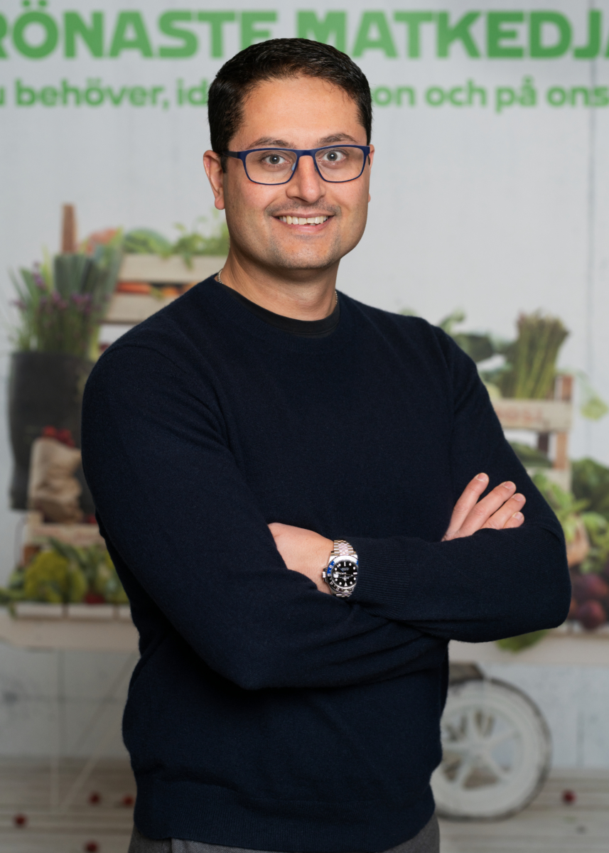 Amer Mohammed, chef digital