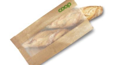 Coop slopar plasten i brödpåsarna