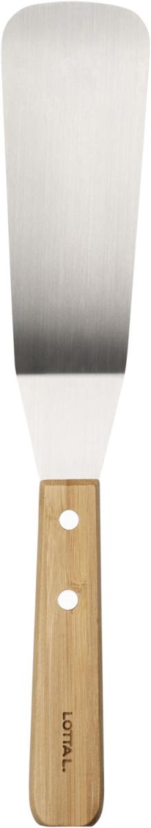 Stekspade, bambu/rostfritt