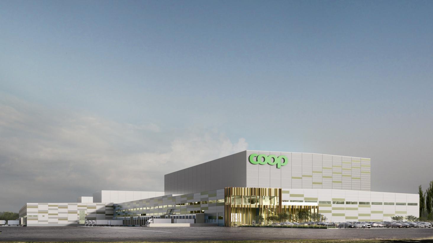 Coop investerar för framtiden – bygger automatiserad varuterminal i Eskilstuna